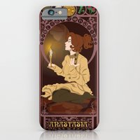 iPhone & iPod Case featuring Anastasia Nouveau - Anastasia by CaptainLaserBeam