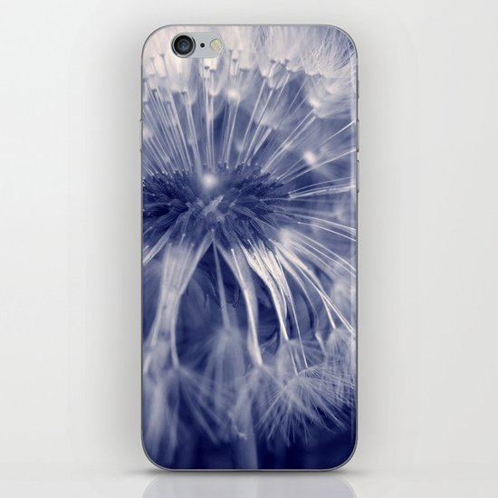 blue dandelion I iPhone & iPod Skin