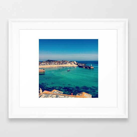St Ives Framed Art Print