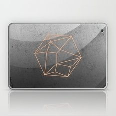 Geometric Solids on Marble Laptop & iPad Skin