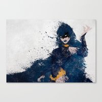 Dark Origins Canvas Print