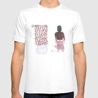Executioner's mom Mens Fitted Tee White SMALL