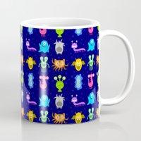 Monster Pattern Mug