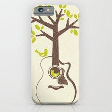 Birds & Acoustic Guitar iPhone 6 Slim Case