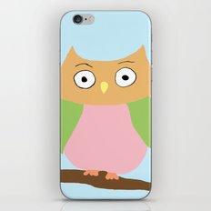 Owl Family Portrait iPhone & iPod Skin
