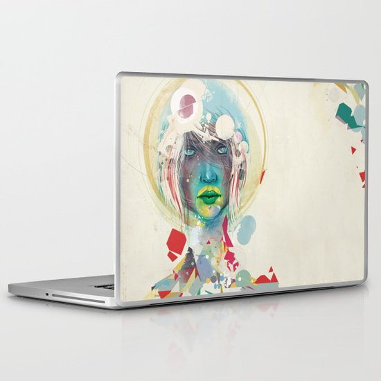 broken - light Laptop & iPad Skin