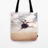 Beautiful Ballet Dancer … Tote Bag