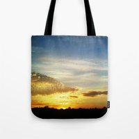 Feel The Sunset Tote Bag