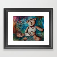 No One Else Can Do It For You (2015) Framed Art Print