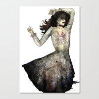 Ribs Canvas Print