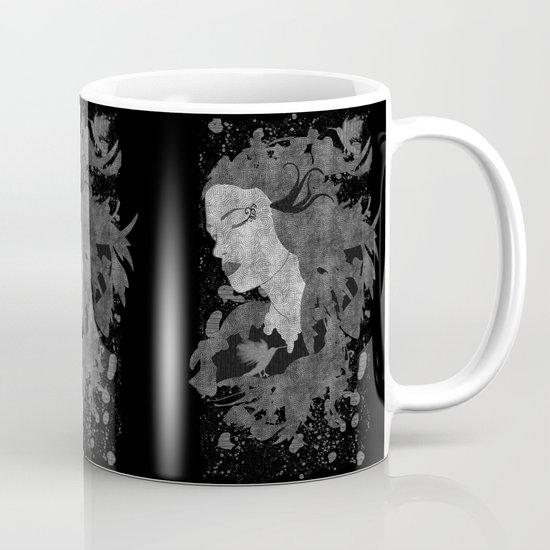 Cosmic dreams (B&W) Mug