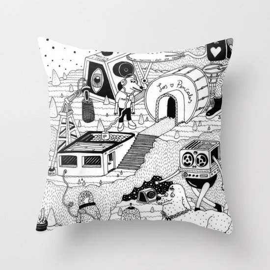 EL TANQUE CARCEDO Throw Pillow