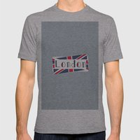 Home, Love, Illustration… Mens Fitted Tee Athletic Grey SMALL