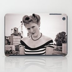 Railway pinup iPad Case