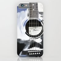 iPhone & iPod Case featuring Be Your Song and Rock On in White II by ArtsyCanvasGirl Designs