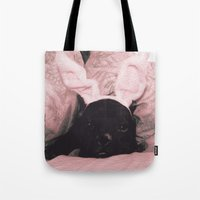 French Bunny Tote Bag