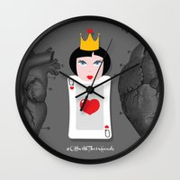 Off with their heads Wall Clock