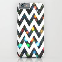 iPhone & iPod Case featuring Chevron Sparkles by ParadiseApparel