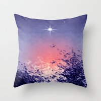 venus evening star. Throw Pillow