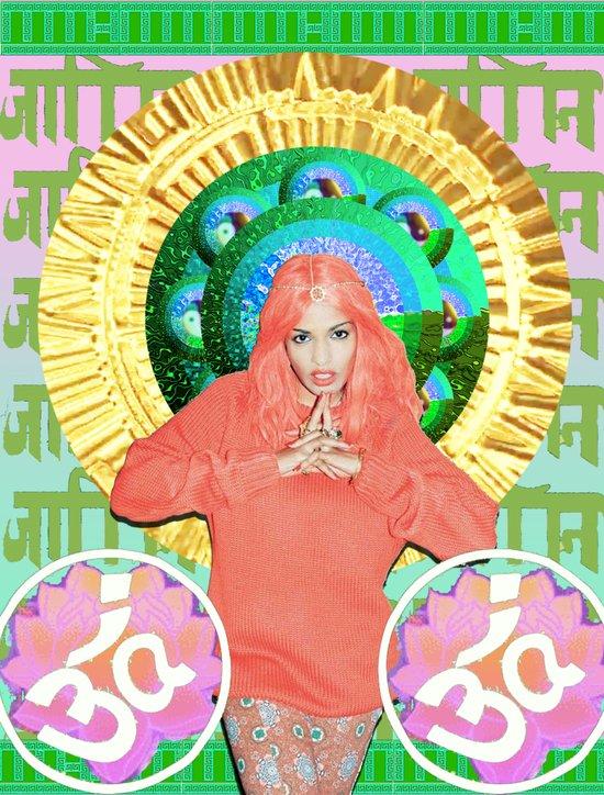 GODDESS_MATANGI Art Print
