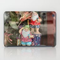 iPad Case featuring Santas On Vacation by Kealaphotography