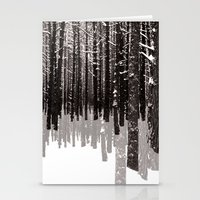 Tree Shadow Stationery Cards