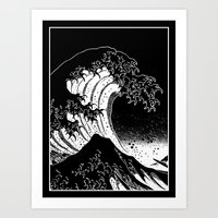 Hokusai, The Great Wave Art Print