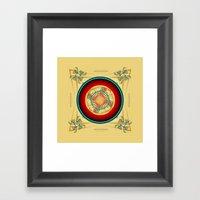 Circle Study No. 453 Framed Art Print