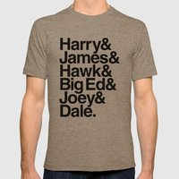 The Bookhouse Boys (Whit… Mens Fitted Tee Tri-Coffee SMALL
