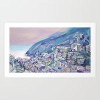 Mountains-691501.jpg Art Print