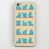 Elephant Yoga iPhone & iPod Skin