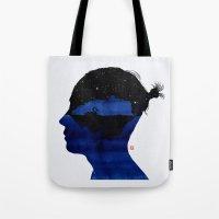孤岛II - Swan lake Tote Bag