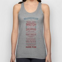 29 Ways To Stay Creative Unisex Tank Top