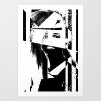 Zebra Nr °2 Art Print