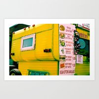 Fair Food Art Print