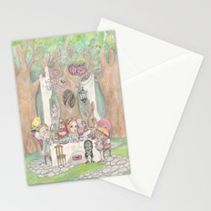 The Tea Party  Stationery Cards