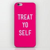 Treat Yo Self Pink- Park… iPhone & iPod Skin