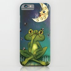 Frog and stinky moon iPhone 6 Slim Case