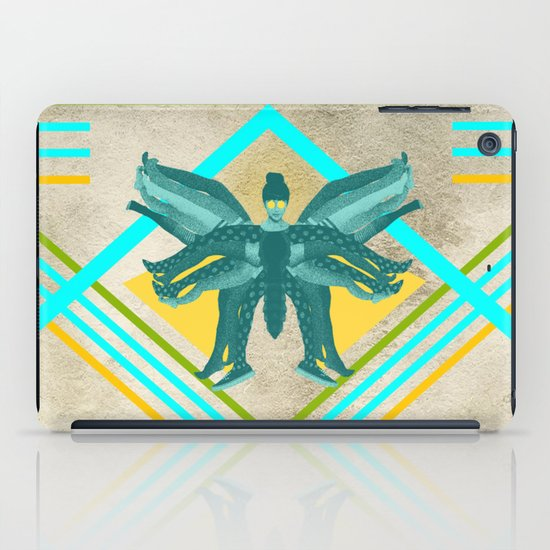 The girl who finally became a butterfly iPad Case