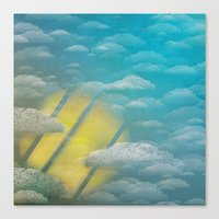Ode To Summer Nights (Ve… Canvas Print