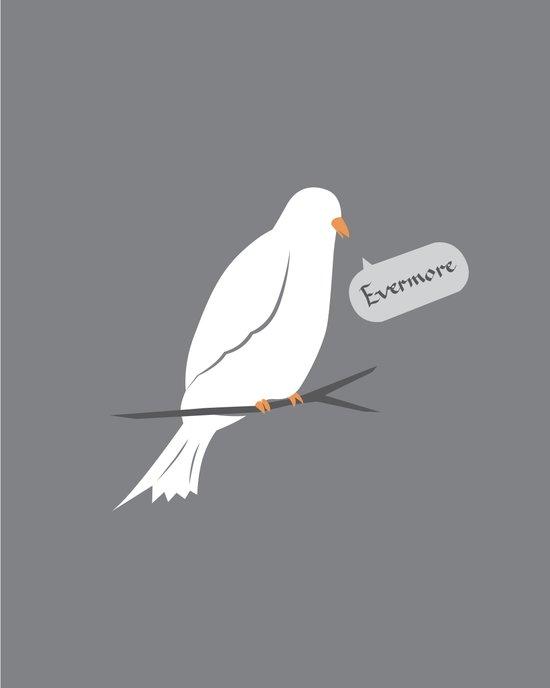 Quoth the dove Art Print