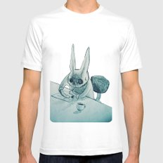 another bunny Mens Fitted Tee SMALL White
