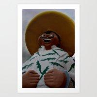 Pedro Art Print