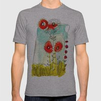 How Does Your Garden Gro… Mens Fitted Tee Athletic Grey SMALL
