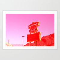 VegasBaby Art Print