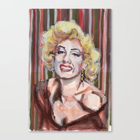 Marilyn Monroe 2 Canvas Print