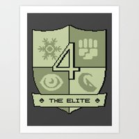 The Elite Four Art Print