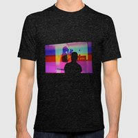 Silhouette Mens Fitted Tee Tri-Black SMALL