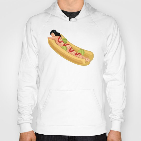Hot Dog Girl Hoody