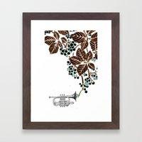 cornet. #2 Framed Art Print